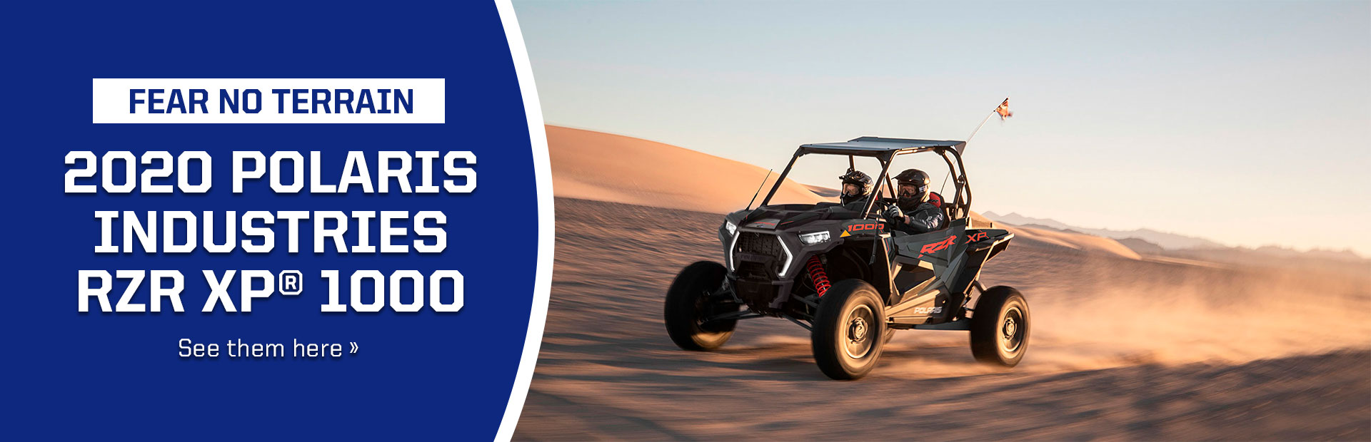 Click now to see our 2020 Polaris Industries RZR XP® 1000 inventory!