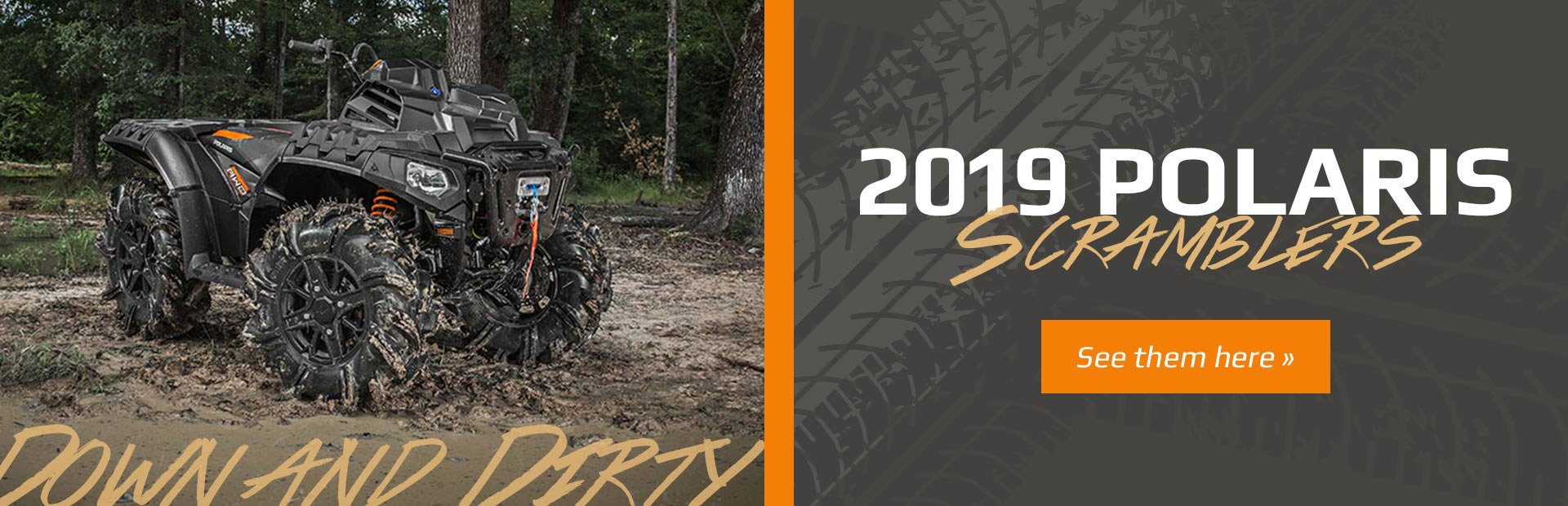2019 Polaris Scramblers: Click here to view the models.