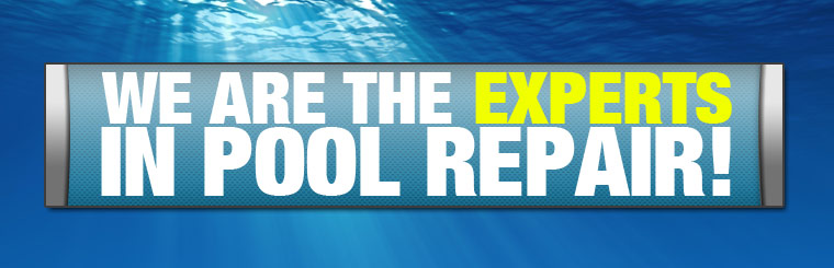 We are experts in pool repair!
