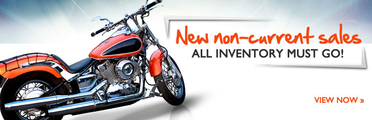 Click here to check out our new non-current sales. All inventory must go!