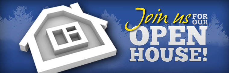 Join us for our Open House! Click here for more details.