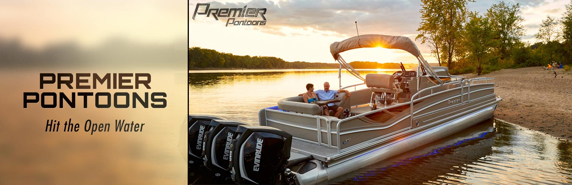 Premier Pontoons: Click here to view the lineup.