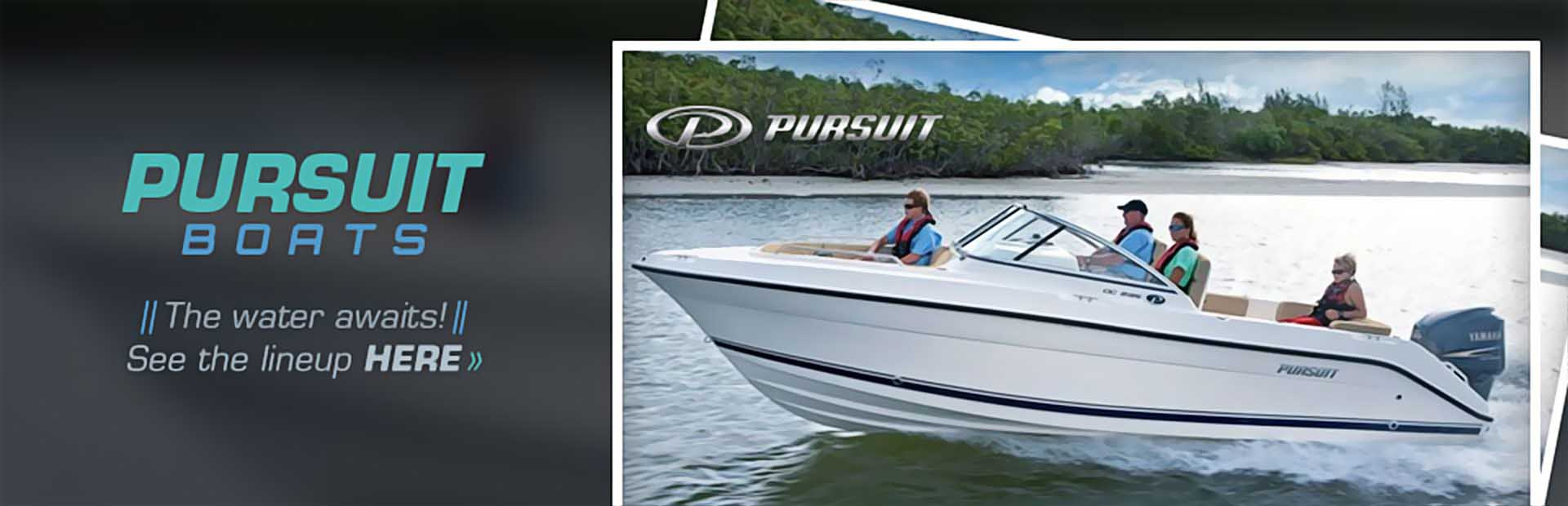 Pursuit Boats: Click here to view the lineup!