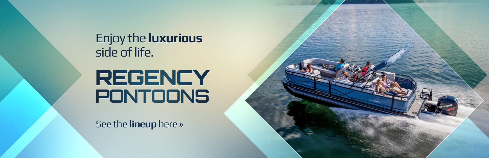 Regency Pontoons: Click here to view the models.