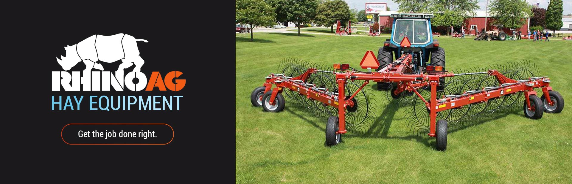 RhinoAg Hay Equipment: Click here to view the models.