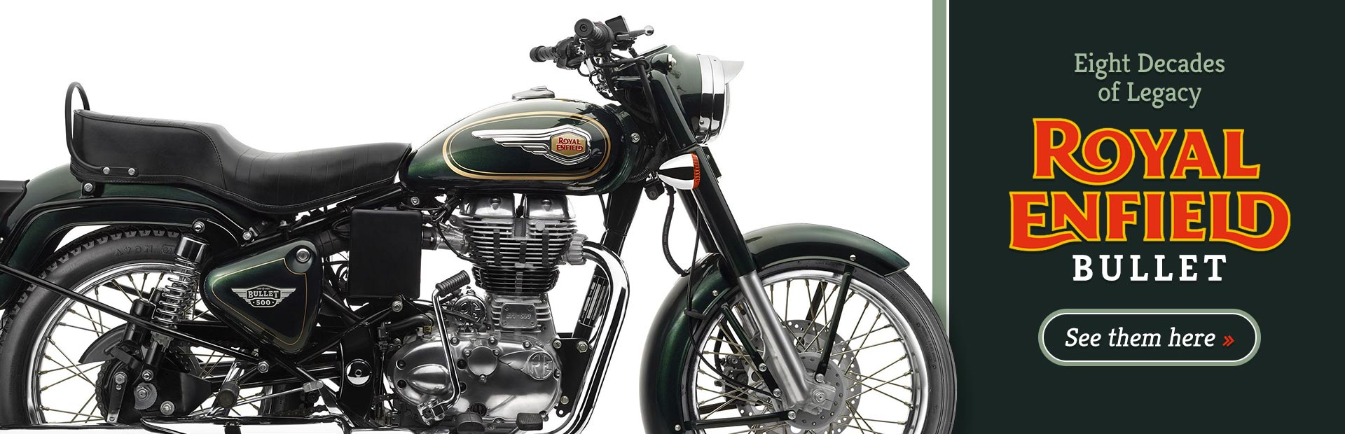 Royal Enfield Bullet: Click here for details.