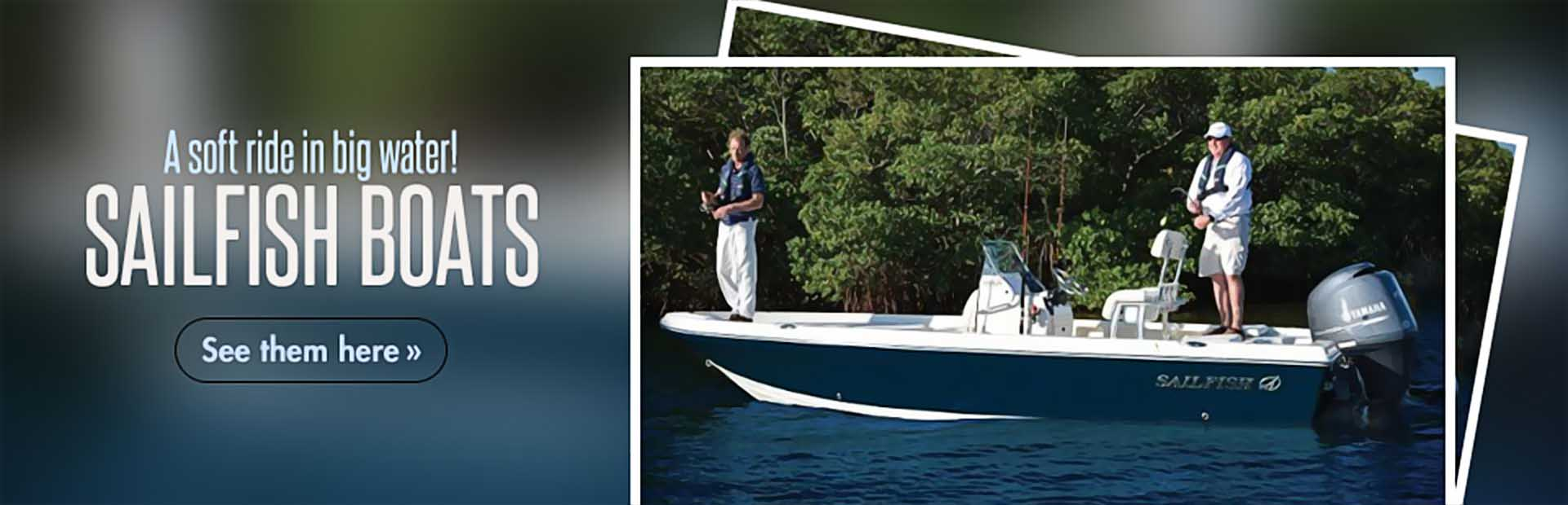 Sailfish Boats: Click here to view the showcase!