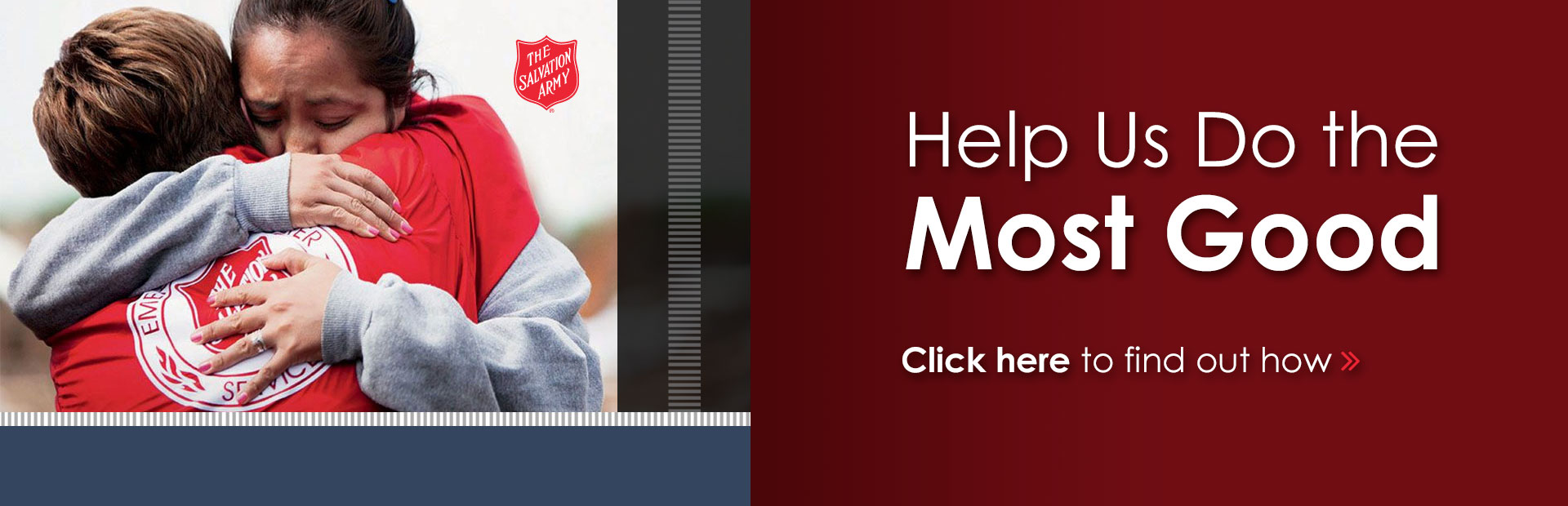 Donate to support the Salvation Army today.