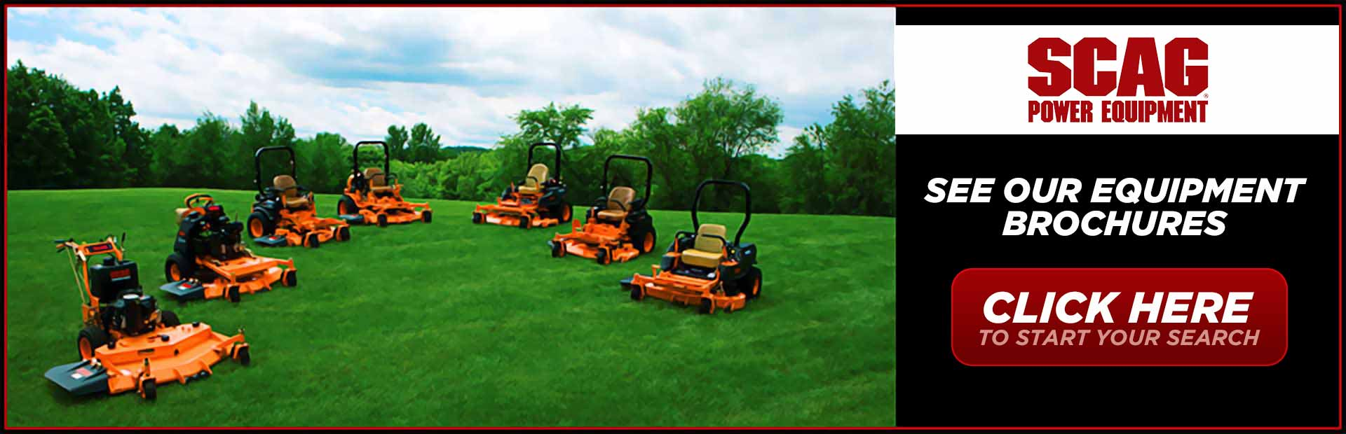 Scag Power Equipment: Click here to view our equipment!