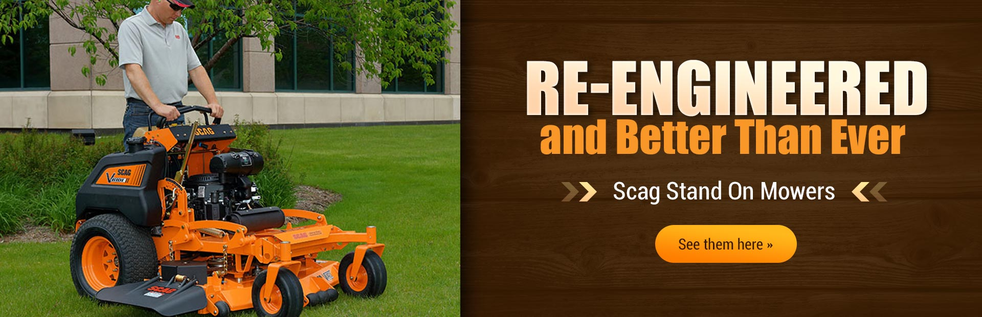 Scag Stand On Mowers: Click here to see the models.