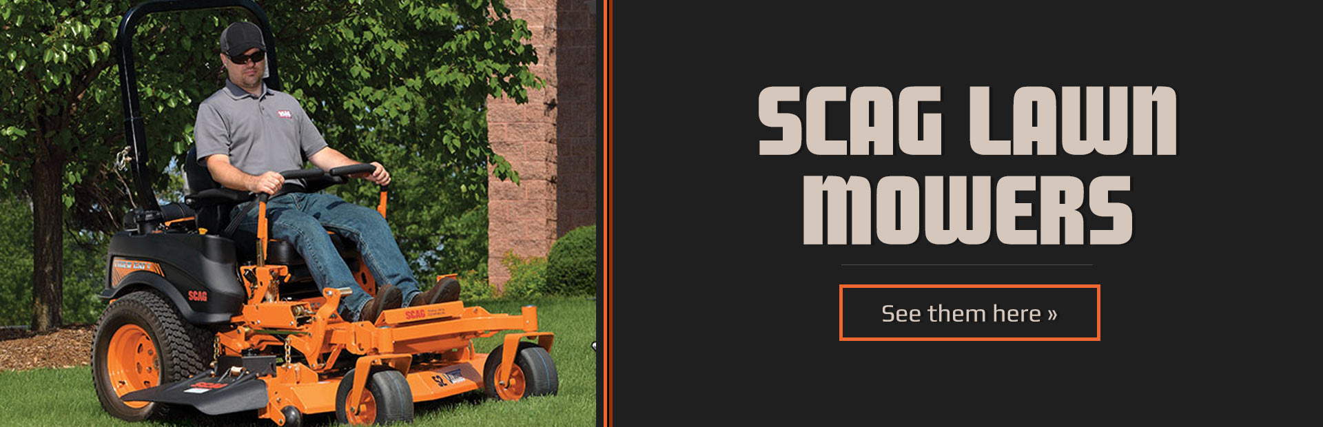 Scag Lawn Mowers: Click here to see the models.
