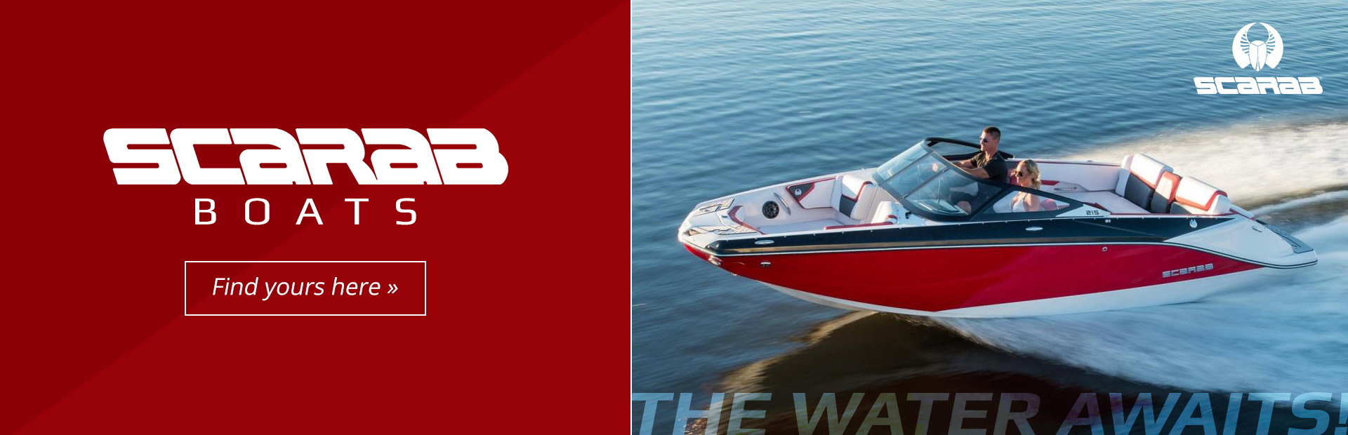 Scarab Boats: Click here to find yours today!