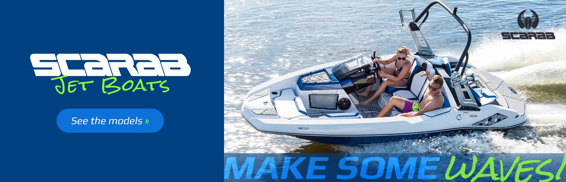 Scarab Jet Boats: Click here to view the models.