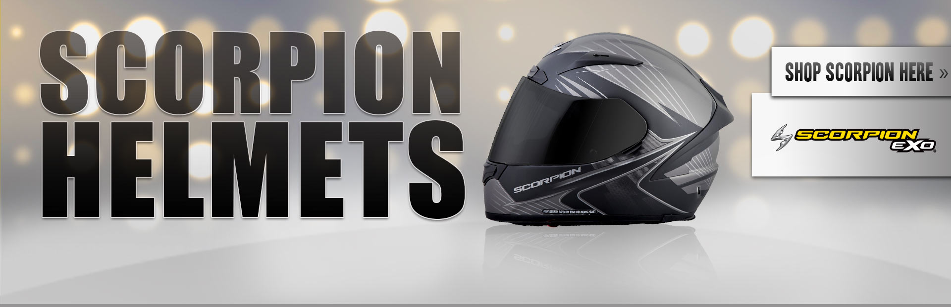 Click here to shop for Scorpion helmets.