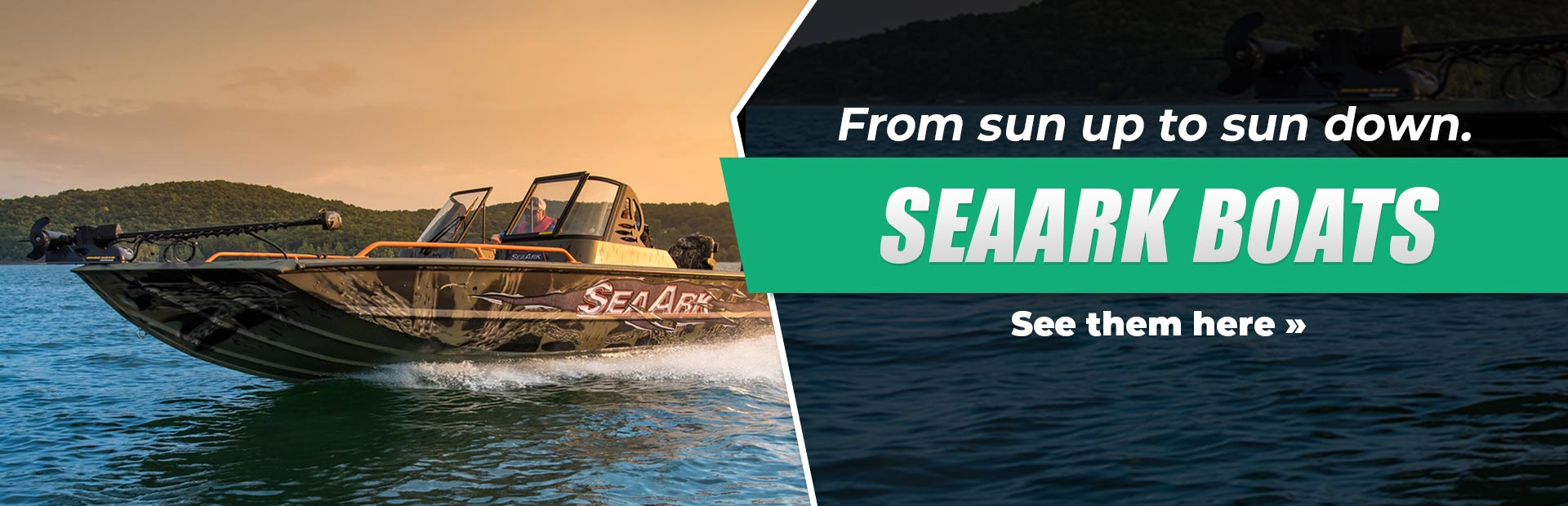SeaArk Boats: Click here to see the models.