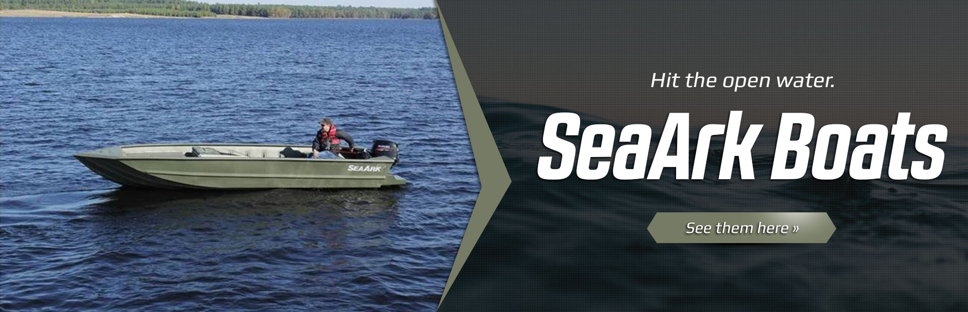 SeaArk Boats: Click here to view the models.