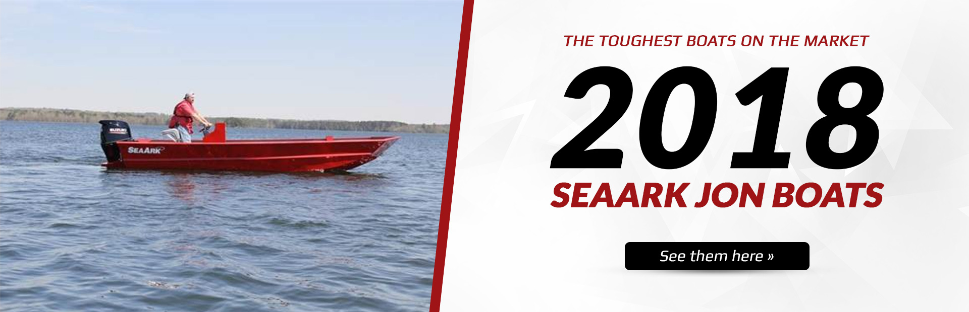 2018 SeaArk Jon Boats: Click here to view the models.
