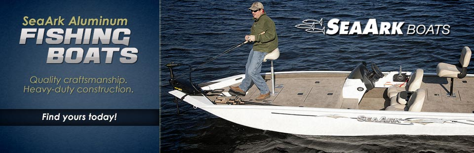 SeaArk Aluminum Fishing Boats: Click here to view the lineup.