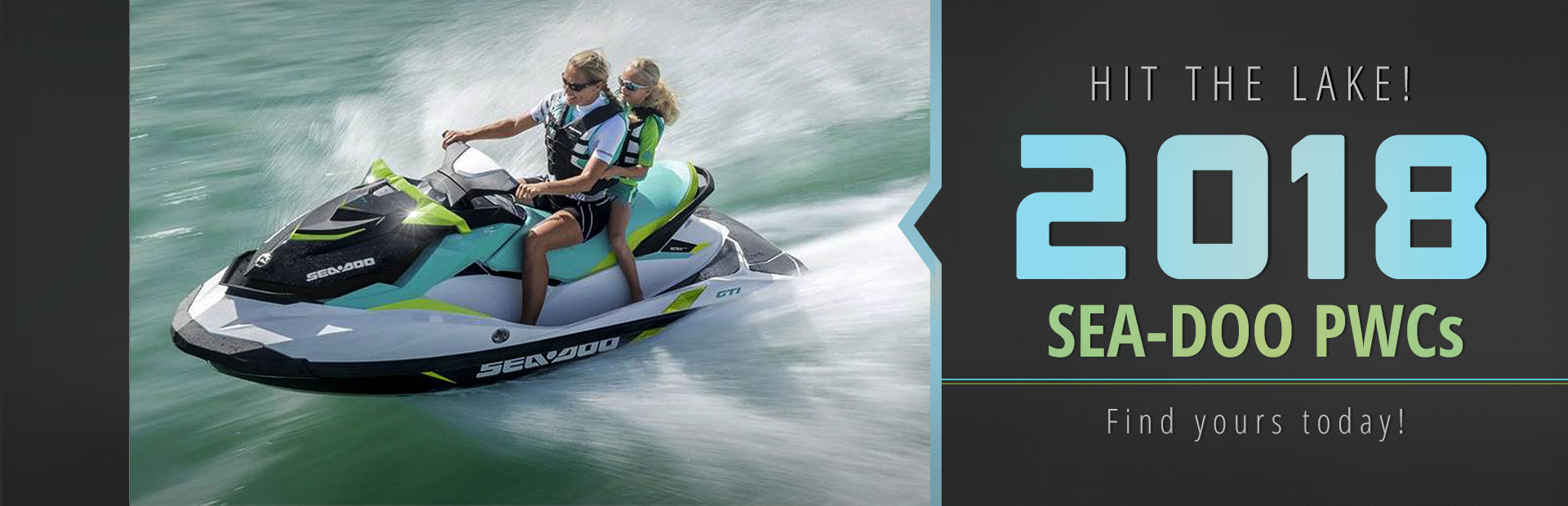 2018 Sea-Doo PWCs: Click here to view the models.