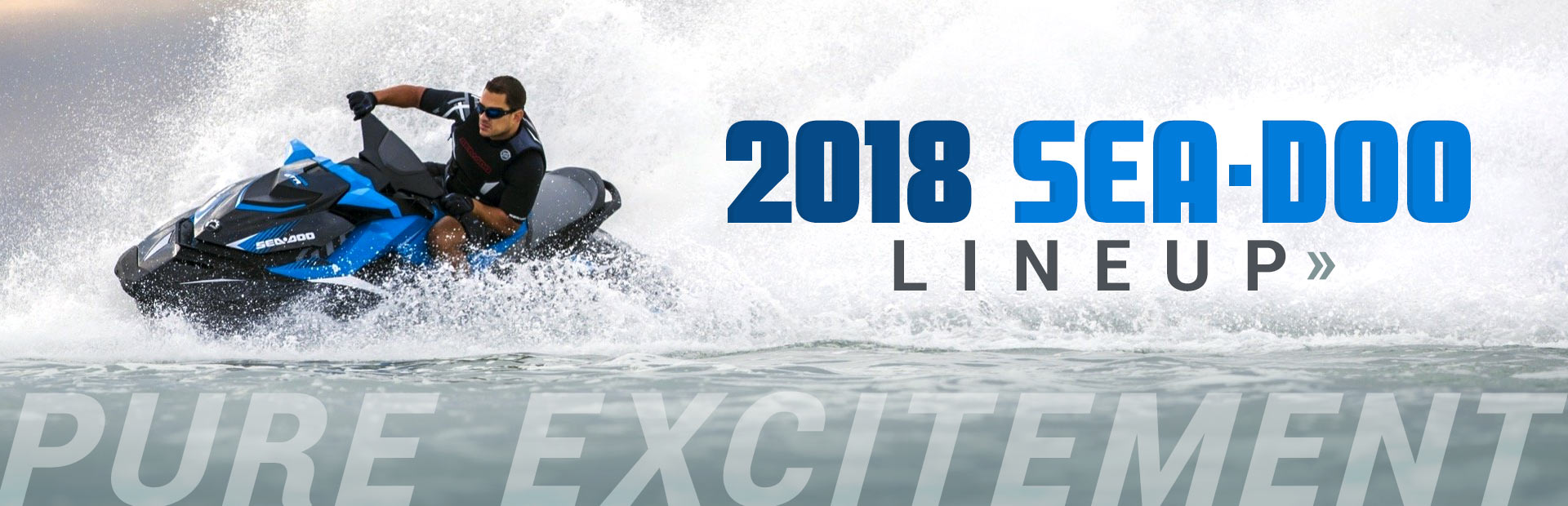 Click here to view the 2018 Sea-Doo lineup.
