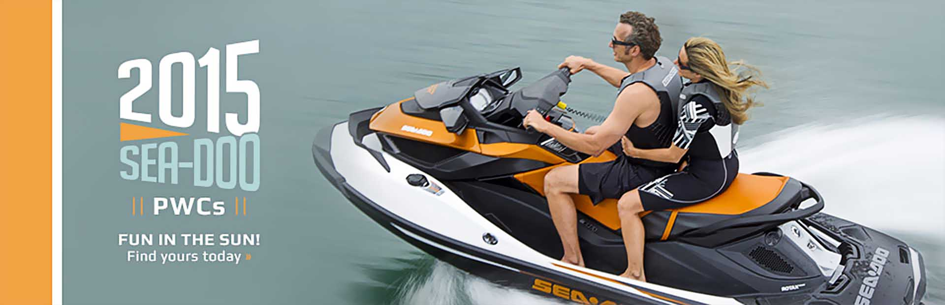 2015 Sea-Doo PWCs: Click here to view the models.