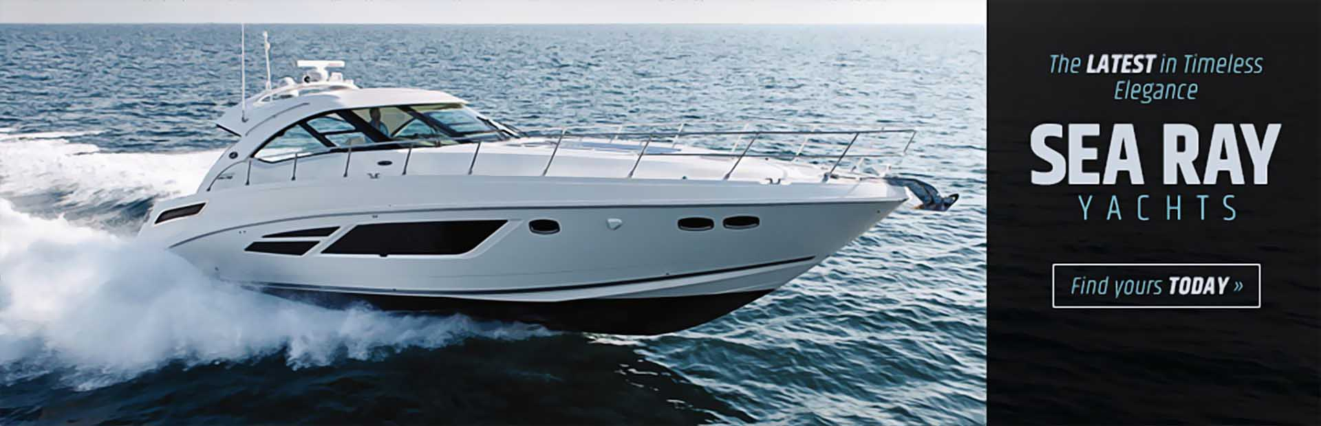 Sea Ray Yachts: Click here to view the models.