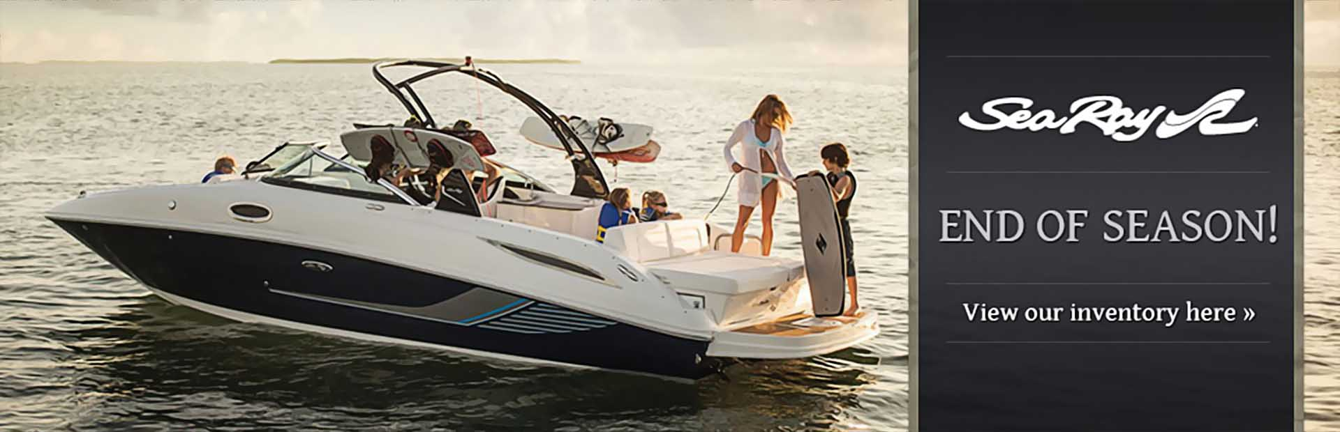 Click here to view our Sea Ray inventory.