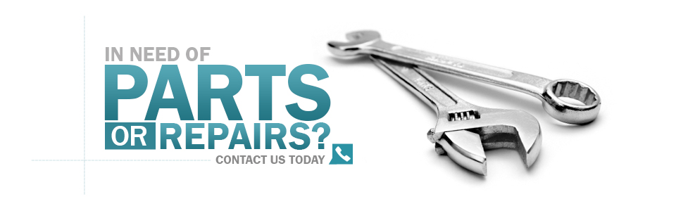 In need of parts or repairs? Click here to contact us today!