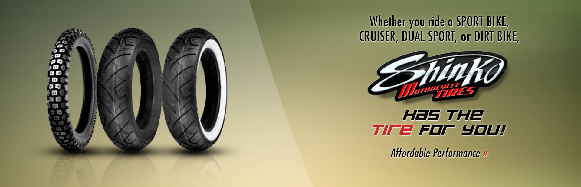 View Shinko tires online.