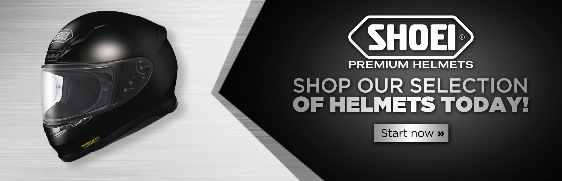 Shop our selection of Shoei helmets today! Click here to start.