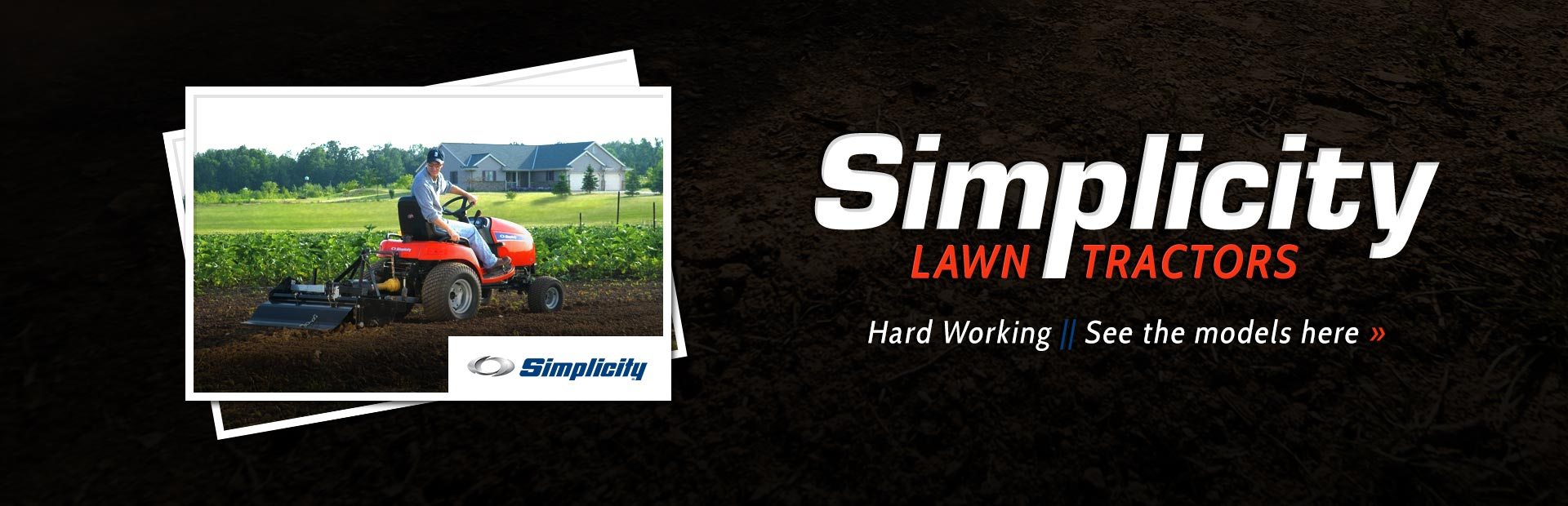 Simplicity Lawn Tractors: Click here to view the models!