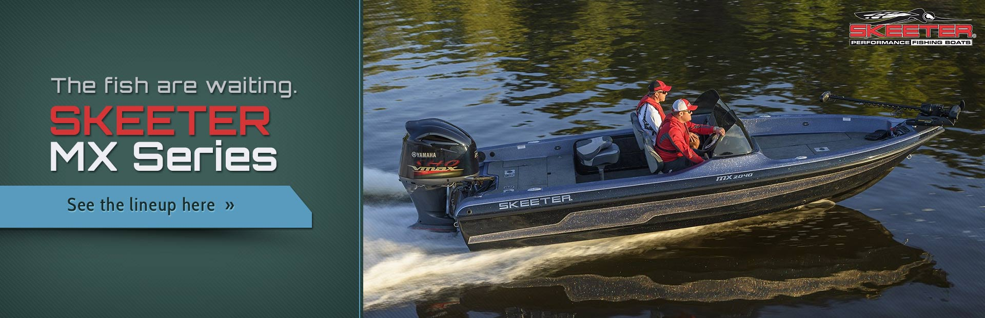 Skeeter MX Series Boats: Click here to view the models.