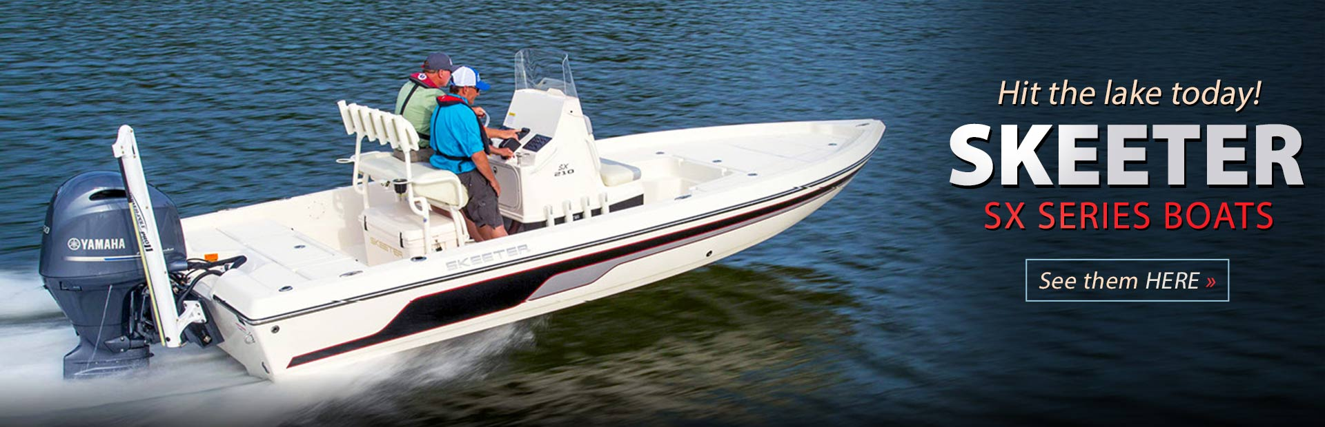 Skeeter SX Series Boats: Click here to view the models.