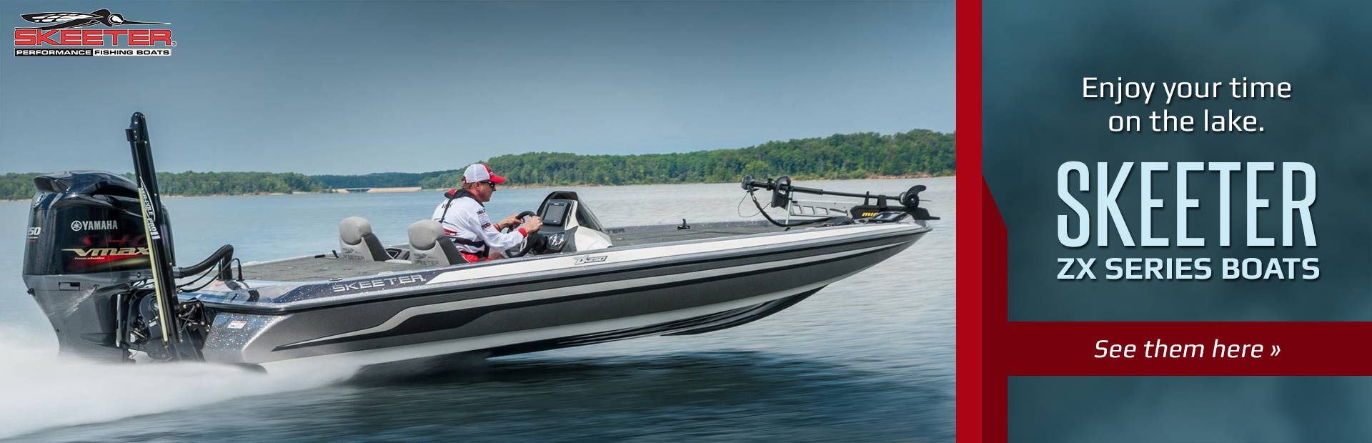 Skeeter ZX Series Boats: Click here to view the models.