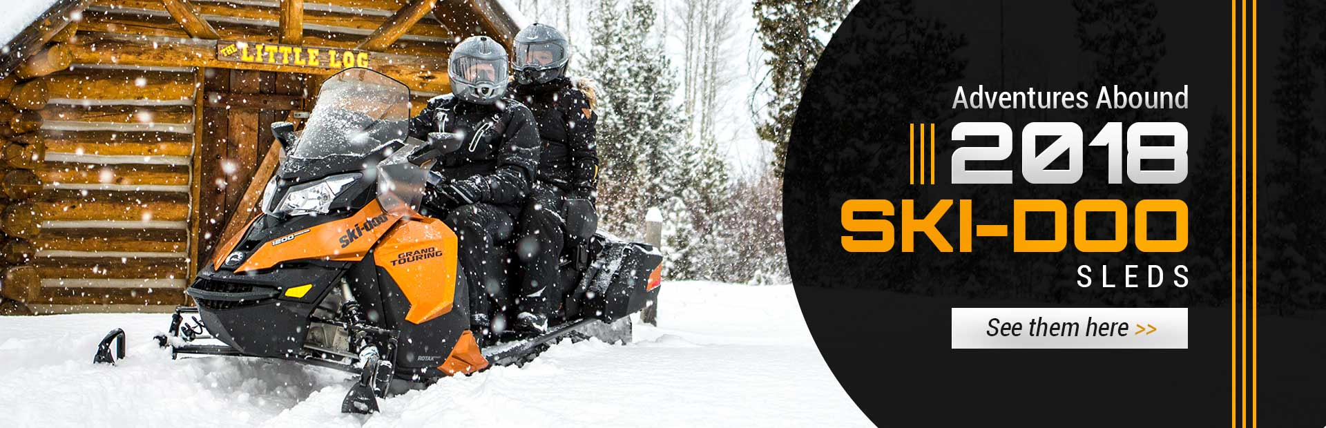 2018 Ski-Doo Sleds: Click here to view the models.