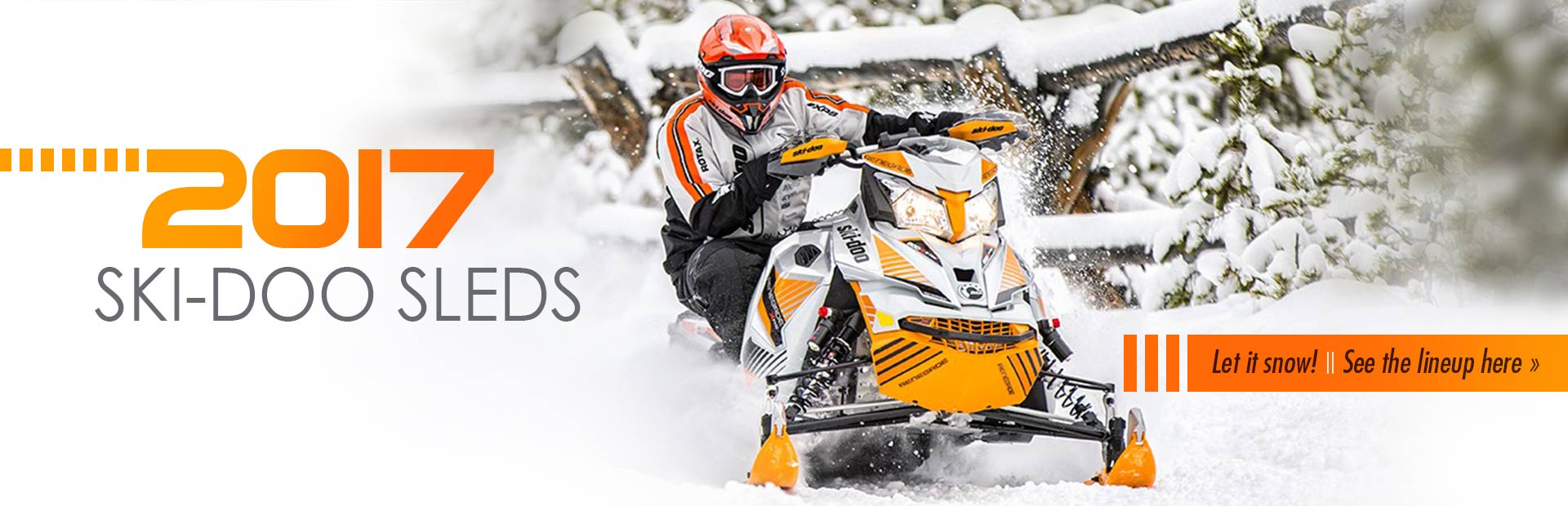 2017 Ski-Doo Sleds: Click here to see the lineup!