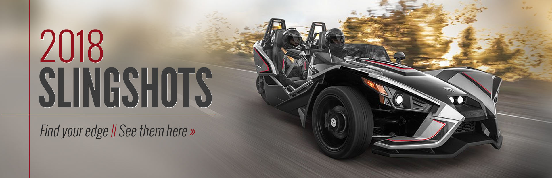 2018 Slingshots: Click here to view the models.