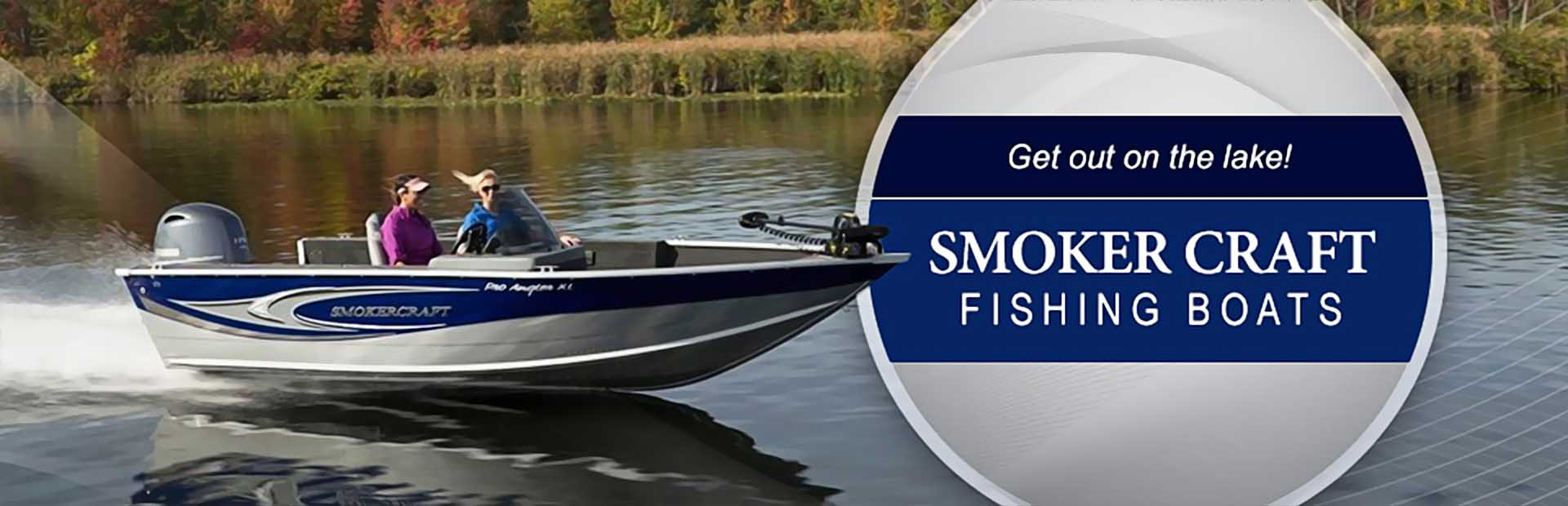 Smoker Craft Fishing Boats: Click here to view the models.