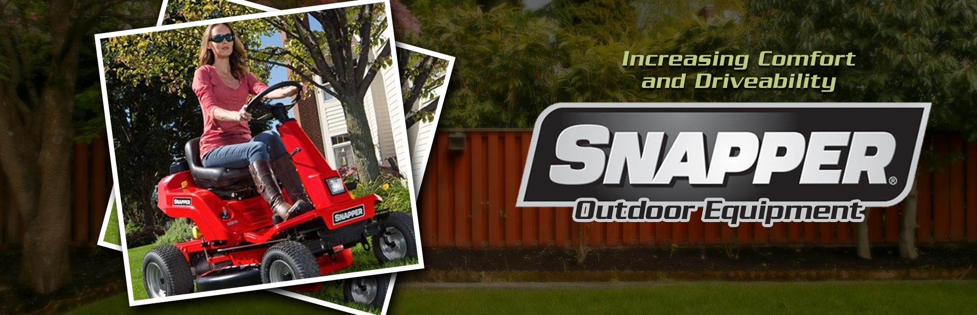Snapper Outdoor Equipment: Click here to view the models.
