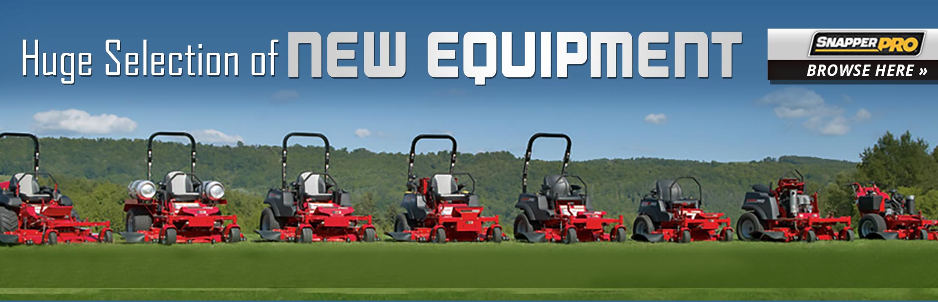 Snapper Pro Lawn Mowers: Click here to view the models.