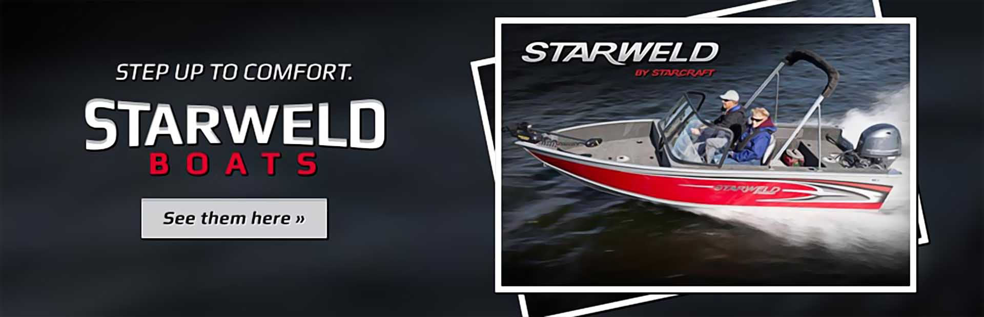 Starweld Boats: Click here to view the models.