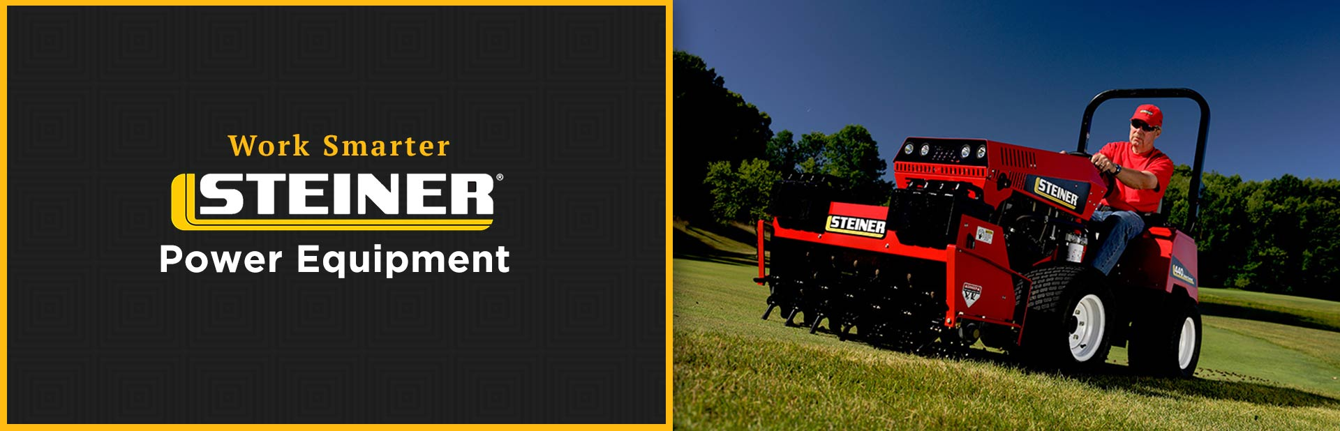 Steiner Power Equipment: Click here to view the models.