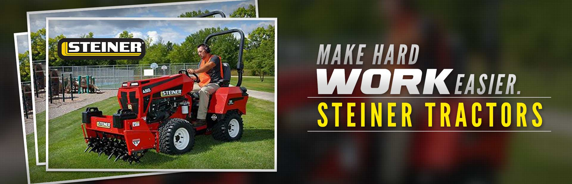 Steiner Tractors: Click here to view the models