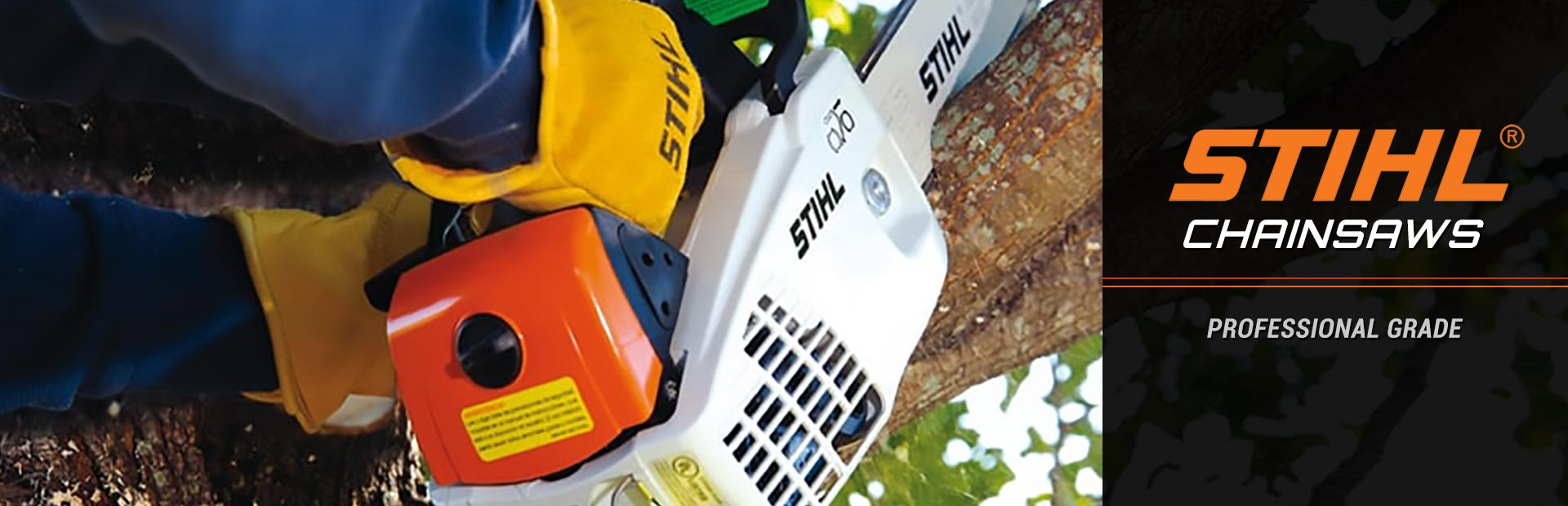 STIHL Chainsaws: Click here to view the models.