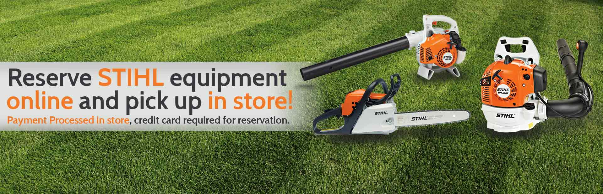 Good Reserve STIHL Equipment Online And Pick Up In The Store Home Design Ideas