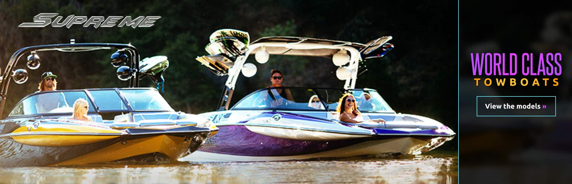 Click here to view the lineup of Supreme towboats.