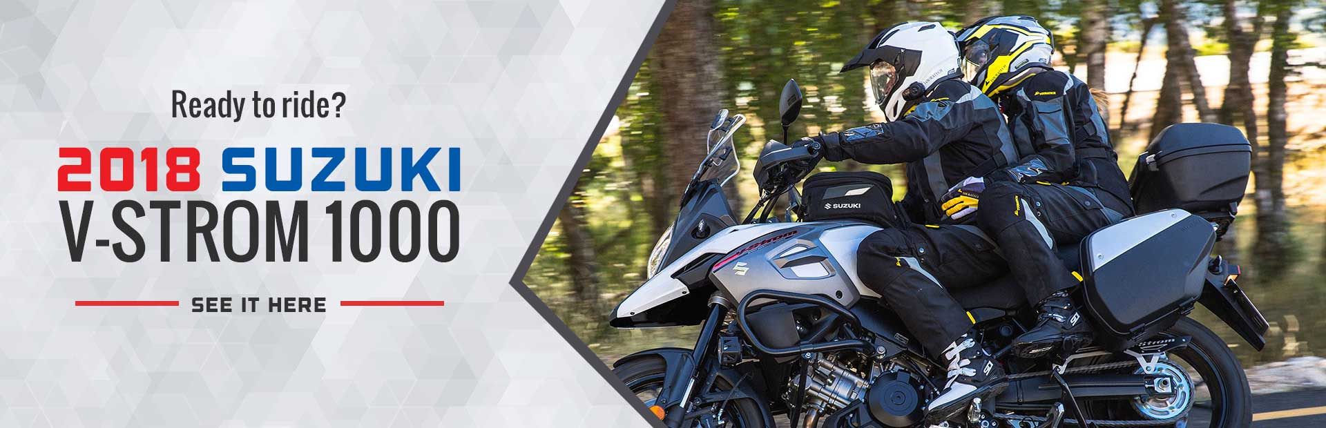 2018 Suzuki V-Strom 1000: Click here to view the model.