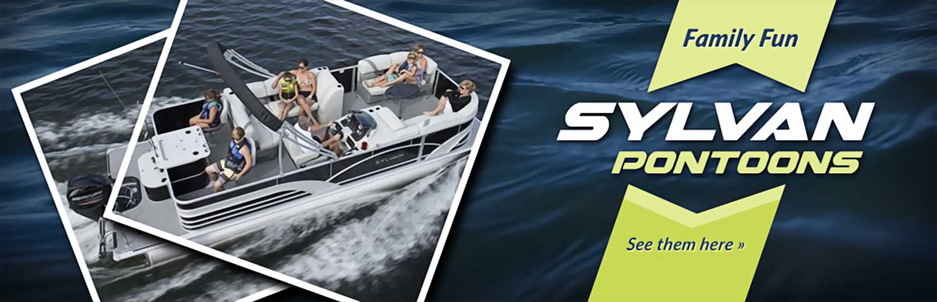 Sylvan Pontoons: Click here to view the models.