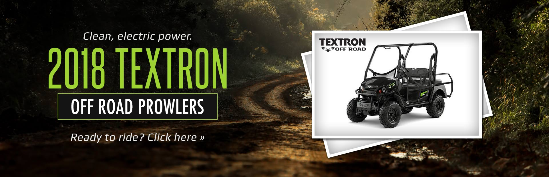 2018 Textron Off Road Prowlers: Click here to view the models!