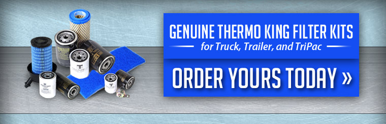 Thermo King Filter Kits: Call today for details.